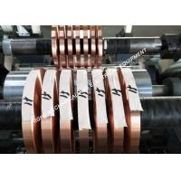China Polished Tinned Copper Foil , Bright Silvery Copper Foil Shielding Tape on sale