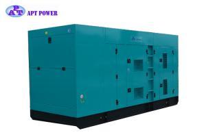China Standby 536KVA industrial power generators , Soundproof silent running diesel generators on sale