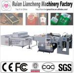 2014 Advanced automatic screen printing machine