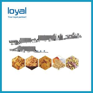 China Breakfast cereal making equipment supplier corn flakes making machine factory on sale