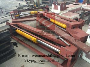 China 180° Hydraulic Electrical Welding Machine H - beam High Efficiency on sale
