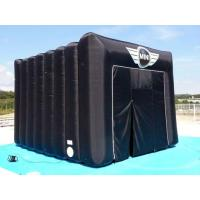 Black Square Inflatable Tent For Camping