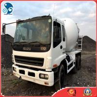 2008Y Isuzu (8 CBM  10cylinders )mixer truck with nice-repair situation location shanghai