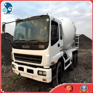 China 2008Y Isuzu (8 CBM  10cylinders )mixer truck with nice-repair situation location shanghai on sale