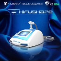 2015 New Trend Nubway HIFU Machine For Weight Loss