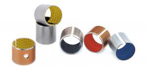 Quality Metal Bimetallic & Steel Guide Bearings Sintered Bronze Bushings Standard Size for sale