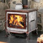 Деревянная горящая печка литого железа GLK-CL18