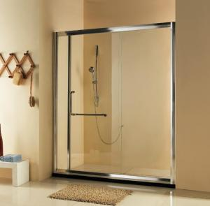 China Hot sell self-cleaning Bathroom Sliding Shower Doors /Frameless Glass Shower Door on sale