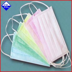 China Recyclable 100% Virgin PP Spunbond Non Woven Fabric Anti - Tear For Medical Mask on sale