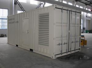 China CUMMINS Standby Container Generator Set Reasonable Structure  Enclosed Housing on sale
