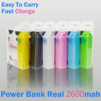 China Fashion Milk Case 2600mAh Power Bank for Iphones,Samsung,HTC,Emergency USB Chargers for cell phones,PDA,PSP on sale