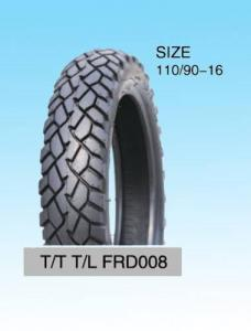 China Cheap Motorcycle  tyre 110/90-16 on sale