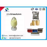 99% Purity Griseofulvin/(+)-Griseofulvin Antifungal Drugs Powder CAS 126-07-8