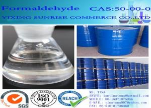 China CAS 50-00-0 Formaldehyde Plastic Colorless No Suspended Substance Agent on sale