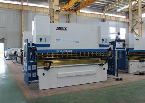 China Touch Screen Control CNC Press Brake Machine6 Axis 220T 4000MM Siemens Motor Power on sale