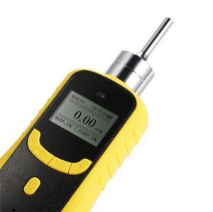 China LCD Display NH3 Ammonia Gas Detector , Portable Gas Detector Built In Sampling Pump on sale