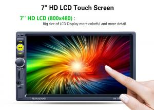 China Powerful 2 Din Mp5 Player 2 Din Car Dvd Player With Camera Reversing BT TV on sale