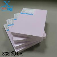 Hard surface 4x8 15mm pvc foam board sound insulation board for door water proof and fire proof vinyl sheet pvc sintra