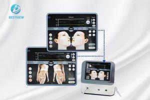 China White Hifu Beauty Machine Non Surgical Face Lift Equipment Warm Feeling on sale