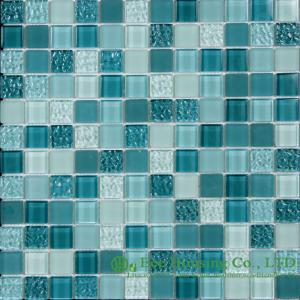 China Acid-proof And Alkali-Proof Crystal  Mosaic Tile Factory, For Indoor and Outdoor Walls on sale