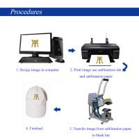 Cap Multifunction Heat Press Machine , Hat Heat Press Transfer Machine For Paper Printer