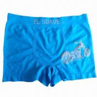 China Polyamid and Elastane hot sale seamless underwear for men on sale