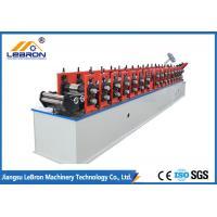 PLC Control Drywall Stud Roll Forming Machine CD UD Shape 4500*800*800mm
