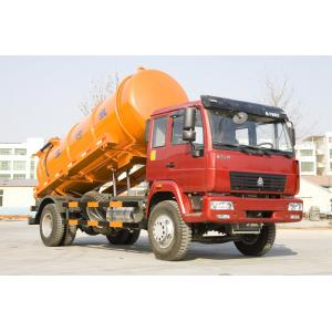 China 290hp EURO II Engine Sewage Suction Truck Multi Color Optional With Lift System on sale