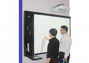 China 82 inch Digital Classroom Integrated Electronic Whiteboard with Win 7 / Win 8 OS on sale