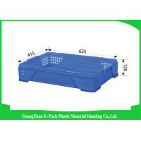 Warehouse Large Plastic Storage Boxes , Space Saving Stackable Plastic Bins