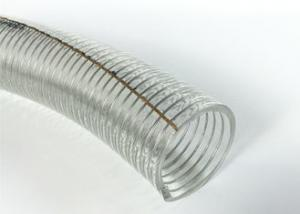 China Good Flexibility PVC Anti Static Wire Reinforced Water Hose For Fuel Petroleum on sale