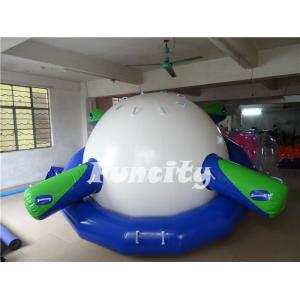 China 0.9MM Thickness PVC Tarpaulin Inflatable Saturn Rocker for Inflatable Water Park on sale