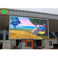 P6 Outdoor Full Color LED Display Big Tv Advertising Screen 1920Hz Refresh Frequency