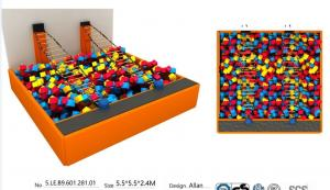 China 30M2 China Manufacture Trampoline Park/ Cushion Sponge Foam Cube Pit for Large Indoor Jumping Bed on sale