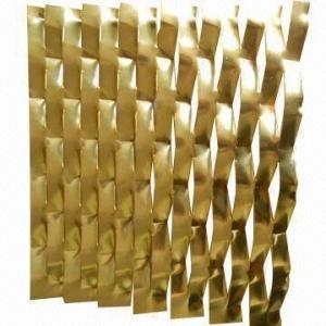 China Malla ampliada aluminio anodizada, usada en industria de la filtración y construcciones on sale
