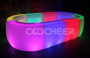 China Water Proof Wine Led Cocktail Table Bar Banquet Lighting Table Indoor on sale