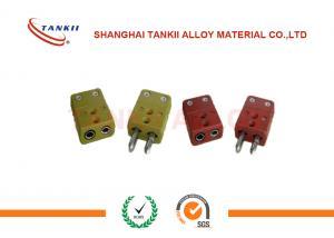 Tipo K Termocupla Conectores IEC Colores