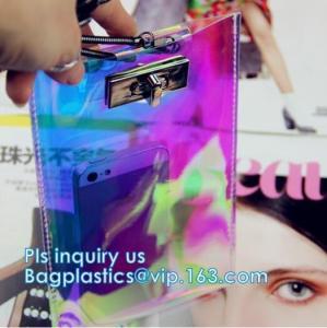China Transparent Clear Bag Wallet Purse, Clear rubber tote bag zipper wallet pvc beach bag, travel wallet PVC clear giant pas on sale