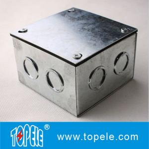 China Steel Electrical Conduit Square Junction Box,Metal Enclosure Outdoor box Electrical Boxes And Covers on sale