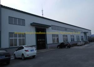 China Prefabricated Flat Roof Steel Workshop Buildings Environment Protection on sale