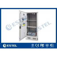 Stainless steel Temperature Control Outdoor Battery Cabinet With 3 Layer Battery For Telecom Station
