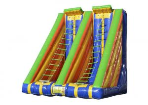 China Race Inflatable Sports Games Outdoor Toys Blow Up Ladder Climb Capacity 2 Persons on sale