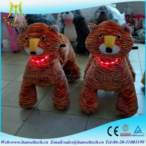China Hansel Electric dog toy plush riding toys motorized animals on sale
