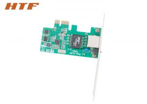 China 10 / 100 / 1000Mbps PIC Gigabit Ethernet Card For Desktop Realtek 8111E Chipset on sale
