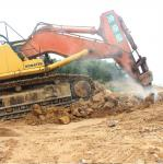 Heavy duty excavator single bucket attachment single Heavy duty single shank excavator ripper