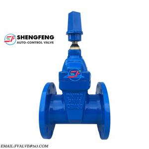 China high quality ductile iron ggg50 PN16 DN100 underground squared nut gate valve on sale