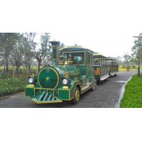 European Mini 3 Carriages 60 Passengers Electric Trackless Train with Lead-acid Battery