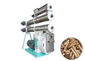China Easy Operating Animal Food Pellet Machine , 55kw Poultry Pellet Feed Plant on sale