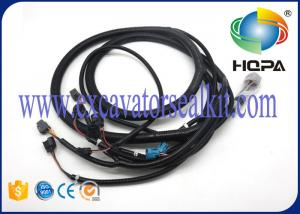 China Black Excavator Spare Parts Standard Size , Custom Engine Wiring Harness on sale