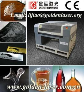 China CNC Laser Engraving Machine Price JG-7040SG on sale